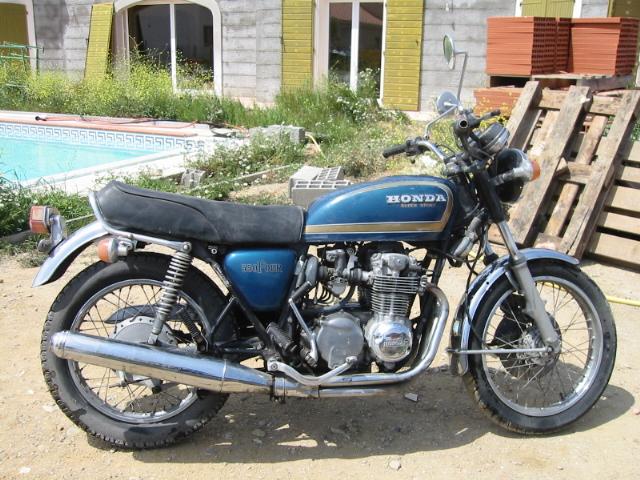 Restauration, entretien, réparation de ma Honda CB 550 Four ...